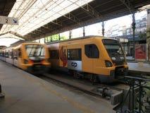 Oporto S.Bento train station interior. Royalty Free Stock Photography