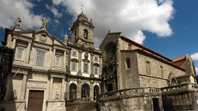 Oporto St. Francis Church Royalty Free Stock Images