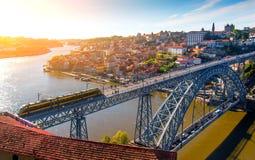 Oporto stad Royaltyfri Fotografi
