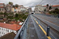 Oporto-Stadtbild in Portugal Stockfotos
