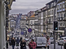 Oporto street Royalty Free Stock Images