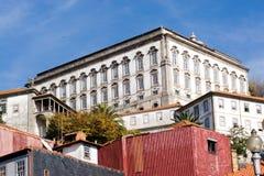 oporto town Royaltyfria Foton