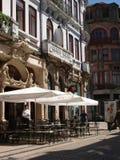Oporto traditionell majestätisk café Fotografering för Bildbyråer