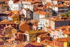 Oporto viejo, Portugal Fotos de archivo libres de regalías