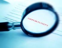 Oportunidad Imagen de archivo libre de regalías
