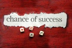 Oportunidad de éxito Fotografía de archivo libre de regalías