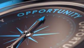 Oportunidad de negocio Foto de archivo libre de regalías