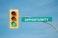 Oportunidade Foto de Stock