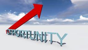 Oportunidade Imagens de Stock Royalty Free