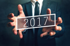 Oportunidade de negócio em 2017 Imagens de Stock Royalty Free