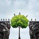 Oportunidade do crescimento do negócio ilustração stock