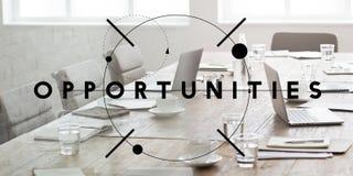 Oportunidades bem escolhidas Concep da ocasião da decisão da possibilidade da oportunidade Fotografia de Stock Royalty Free