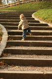 Oportunidades da carreira. A criança vai em cima. fotografia de stock