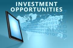 Oportunidades de inversión Fotografía de archivo