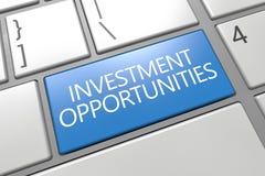 Oportunidades de investimento Imagem de Stock Royalty Free