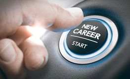 Oportunidades de la carrera, reclutamiento o concepto el proveer de personal Fotografía de archivo