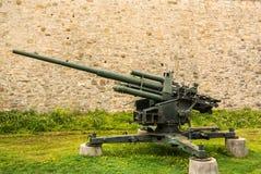 Oposição antiaérea alemão 88 do canhão da guerra mundial 2 Foto de Stock Royalty Free