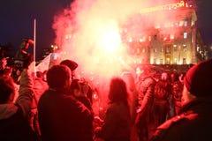 Oposição ?dia da raiva? em Moscovo fotografia de stock royalty free