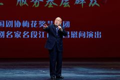 Opowieść Bao chińczyka Śliwkowego okwitnięcia sztuki Nagrodzony ansambl zdjęcie royalty free