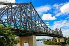 Opowieść most nad Brisbane rzeką Zdjęcia Royalty Free