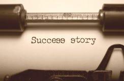 opowieść sukces Zdjęcie Stock