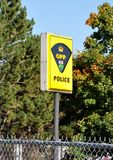 OPP police sign Stock Image