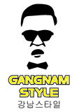 Oppa Gangnam Style Illustration Stock Photos