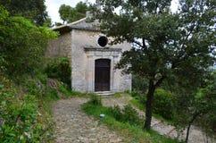 Oppede Le Vieux Kaplica Obraz Royalty Free