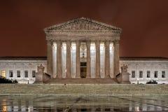 Opperst hof gelijkstroom Washington bij nacht royalty-vrije stock fotografie