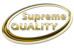Opperste Kwaliteit stock illustratie