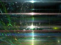 Oppervlakte met krassen - abstract digitaal geproduceerd beeld Stock Foto's