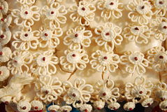 Oppervlakte om de bloemen te doen Stock Afbeeldingen