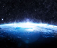 Oppervlakte van de Aarde Stock Foto's