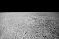 Oppervlakte van de maan Royalty-vrije Stock Fotografie