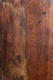 Oude houten keukenraad Stock Afbeeldingen