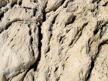 Oppervlakte van de rots Stock Afbeelding