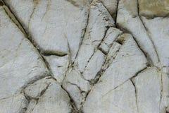 Oppervlakte van een rots met barsten royalty-vrije stock afbeelding