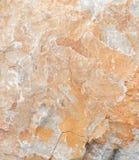 Oppervlakte van het marmer met bruine tint, steentextuur en achtergrond stock afbeeldingen