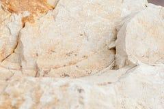 Oppervlakte van het marmer met bruine tint, steentextuur en achtergrond stock foto's