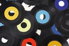 Oppervlakte van vinylverslagen Stock Afbeeldingen