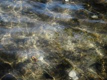 Oppervlakte van water Royalty-vrije Stock Afbeeldingen