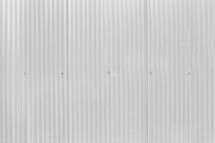 Oppervlakte van witte zinkmuur Stock Fotografie