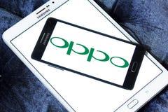 Oppo logo Stock Image