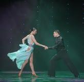 Opponent-Flamingo dance-the Austria's world Dance Royalty Free Stock Photos