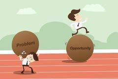 Opportunità di problema, concetto di affari Immagine Stock