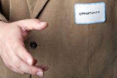 Opportunité commerciale Image libre de droits