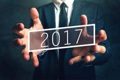 Opportunité commerciale en 2017 Images libres de droits