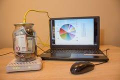 Opportunités commerciales en ligne Commencer vos propres affaires en ligne Photographie stock libre de droits