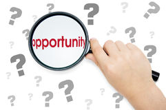 Opportunities lookout Stock Photography
