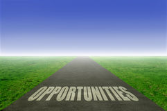 Opportunities royalty free stock image